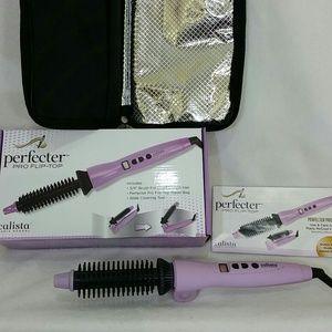 Calista Perfecter Pro flip top styler curler brush